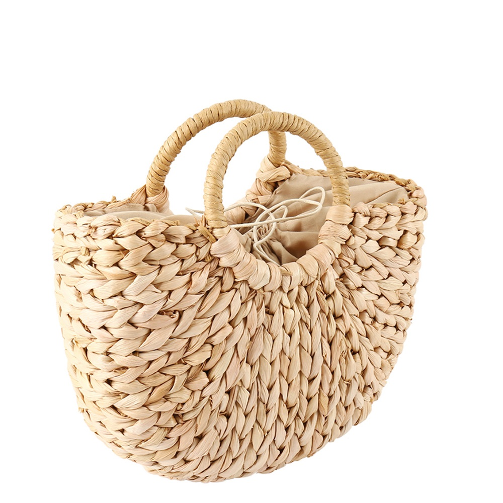 Petit sac de plage en osier