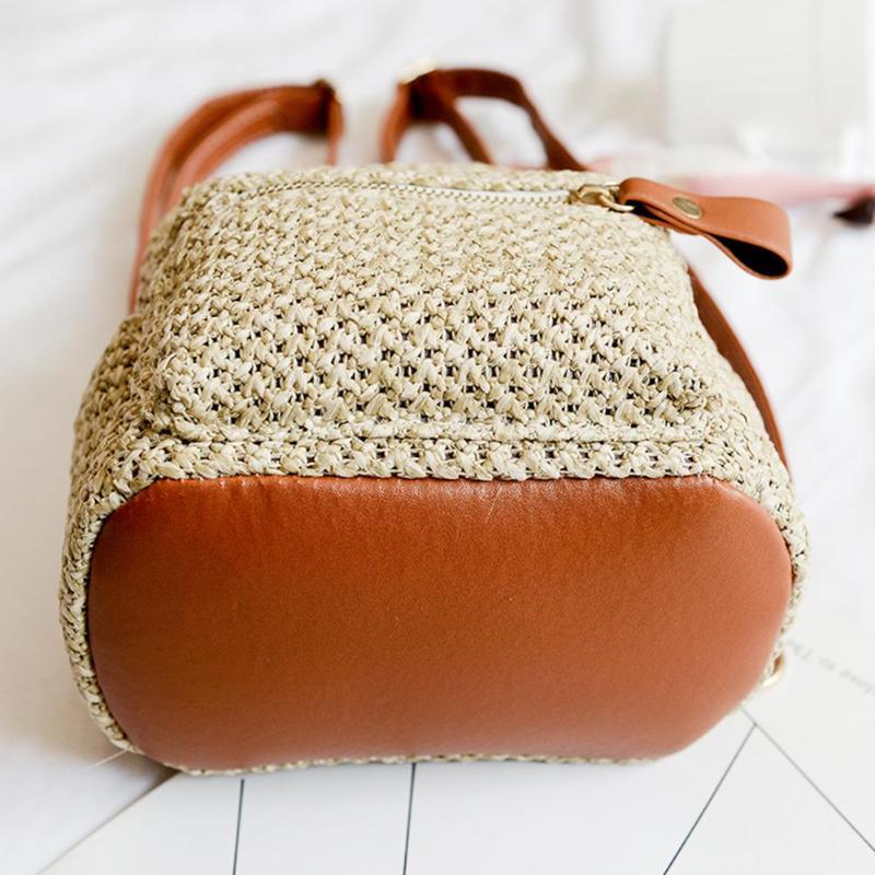 sac à dos en osier - Urban Style dessous