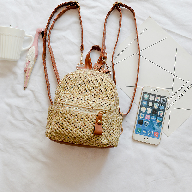 sac à dos en osier - Urban Style