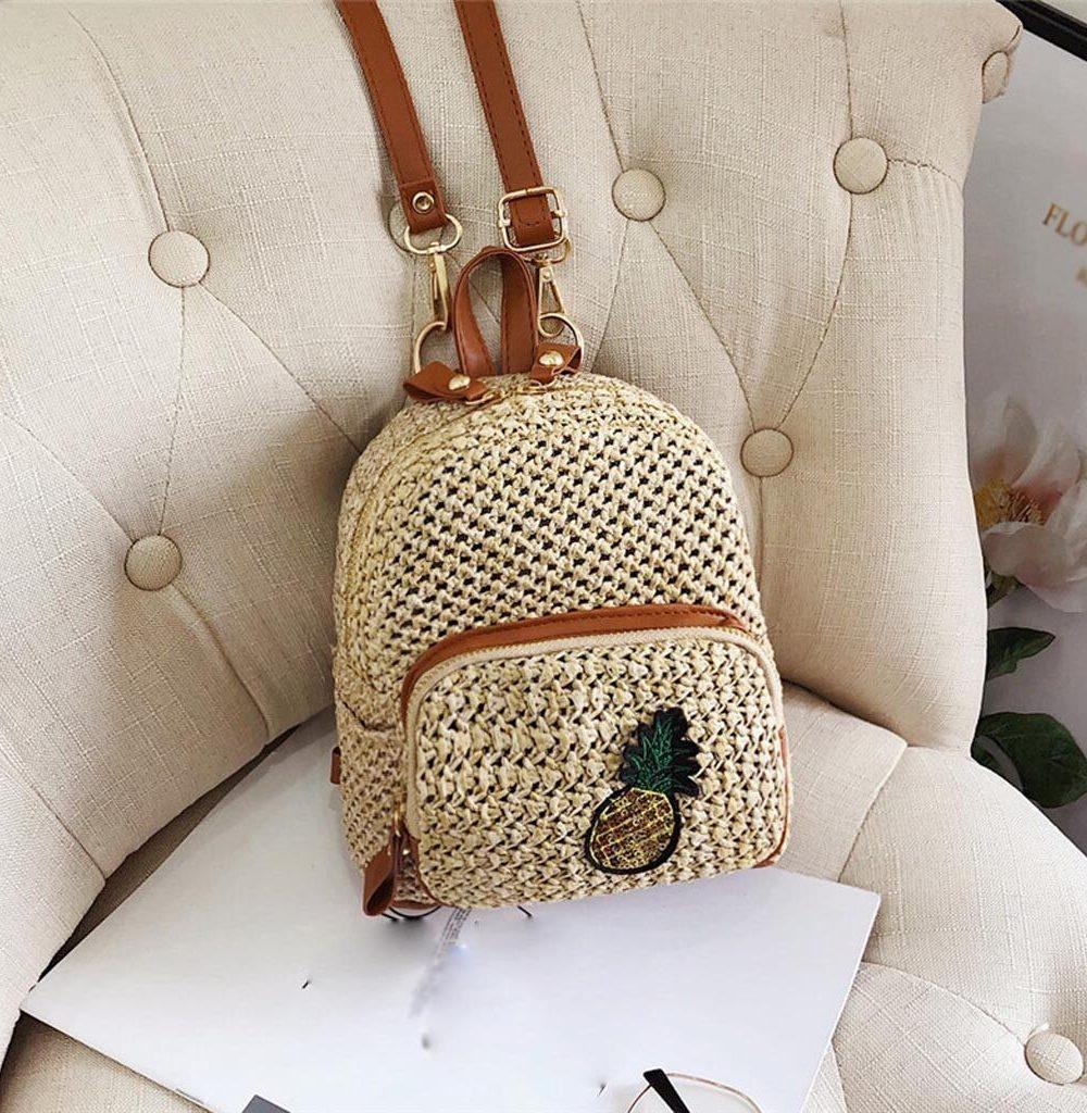 sac à dos osier - Ananas Style
