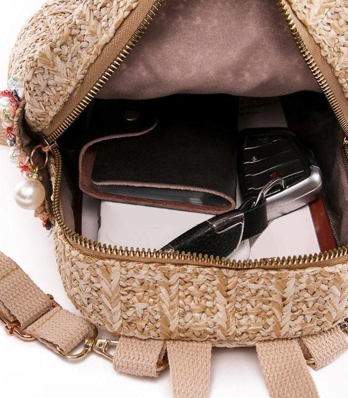 sac à dos osier - Cool Bag intérieur