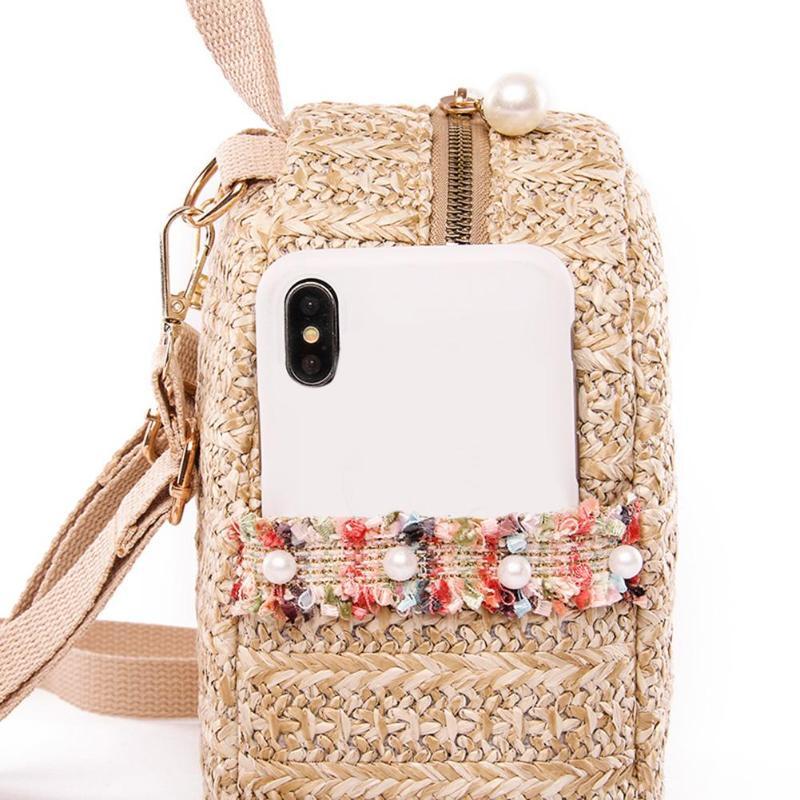 sac à dos osier - Cool Bag poche extérieure
