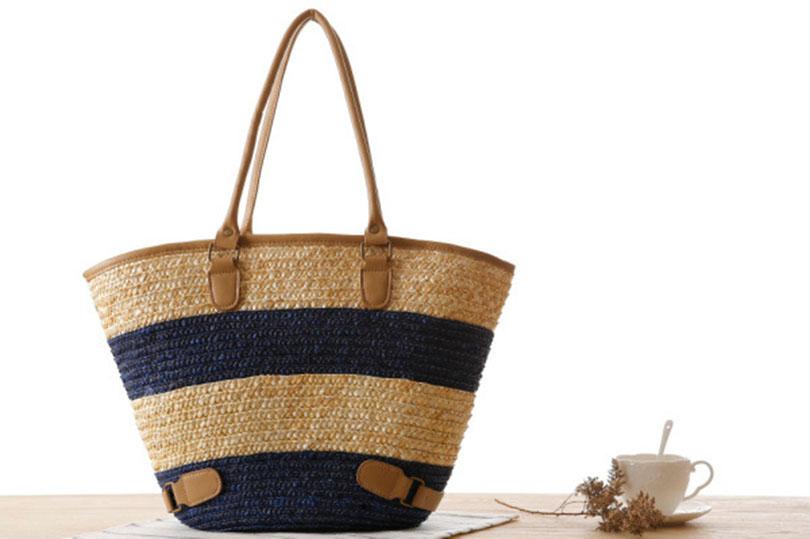 sac en osier de plage - Marine Bag