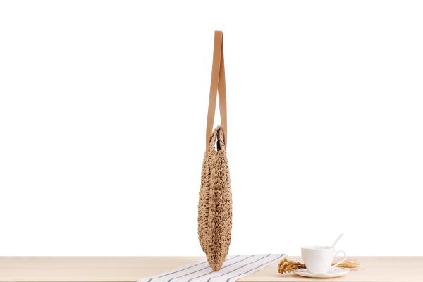 sac osier à bandoulière - Decontracted Style côté