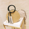 sac osier rond à bandoulière - Chic & Choc