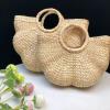 sac osier de plage - half flower