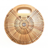 sac osier rond - bamboo style L